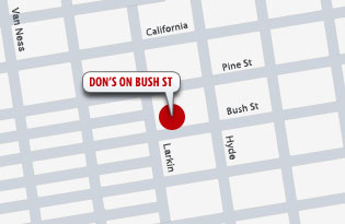 Don's at Bush St.