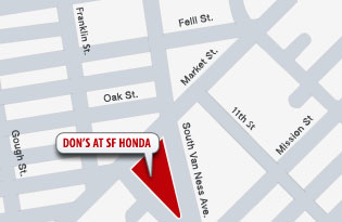 Don's at SF Honda