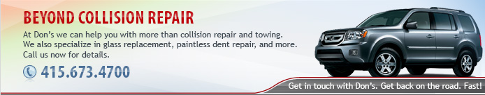 Beyond Collision Repair